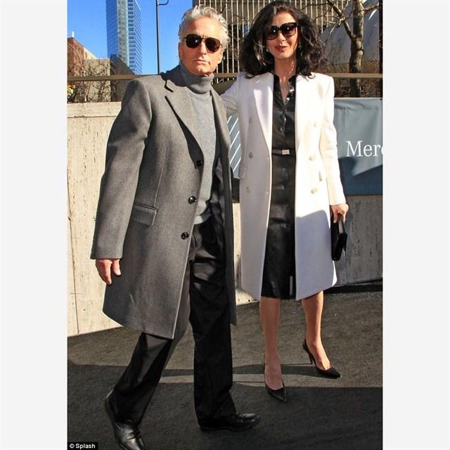 New York Moda Haftası'nda Michael Kors'un şovu ilgi odağıydı...